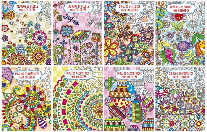 Dibujos De Flores O Geometricos Para Colorear Libreria Casiopea